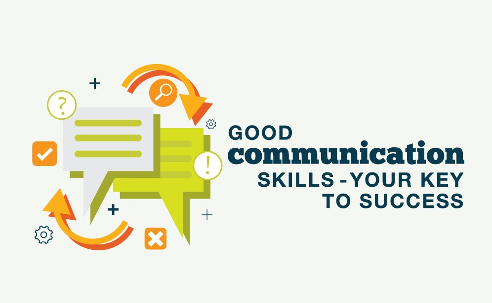 communication is the key for branding services.